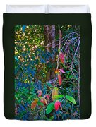 Leaves Changing Color As Autumn Approaches In Iguazu Falls National Park-argentina   Duvet Cover