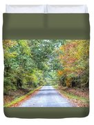 Leaves Changing In The Fall Near Collierville,tn Duvet Cover