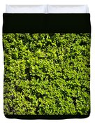 Privacy Hedge Duvet Cover