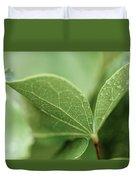 Leaves, Fresh Duvet Cover