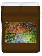Leaves Of All Colors Duvet Cover