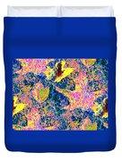Leaves Of Flurry 1 Duvet Cover