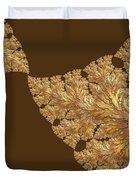 Leaves Of Gold Duvet Cover