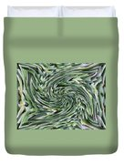Leaves On Spin Cycle Duvet Cover