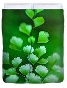 Leaves Rising Duvet Cover