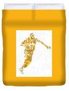Lebron James Cleveland Cavaliers Pixel Art 14 Duvet Cover