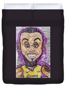 Lebron James Los Angeles Lakers Duvet Cover