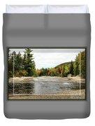 Ledge Falls Hollow, Framed Duvet Cover