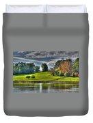 Leeds Castle Lake View Duvet Cover