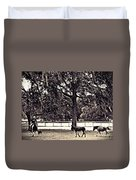 Lee's Ranch 2 Sepia Duvet Cover