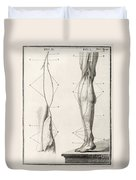Leg Nerve, 18th Century Illustration Duvet Cover