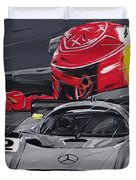 Legend Michael Schumacher Duvet Cover