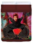 Legend Of Bowie  Duvet Cover