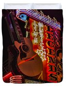 Legends Corner Nashville Duvet Cover