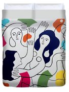 Leger Light And Loose Duvet Cover by Tara Hutton