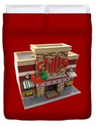 Lego Chili's Restaurant Duvet Cover