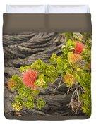 Lehua Flower Duvet Cover