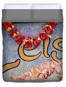 Leis For Sale Duvet Cover