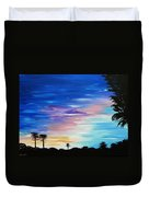 Lejeune Sunset Duvet Cover