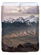 Lemhi Sunset Duvet Cover