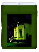 Lemon-drop House Duvet Cover by Guy Ricketts