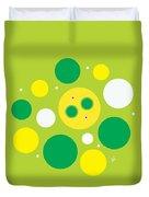 Lemon Lime Fizz Duvet Cover