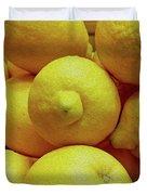 Lemon Squeeze Duvet Cover