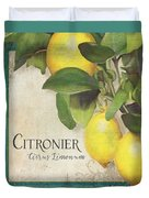 Lemon Tree - Citronier Citrus Limonum Duvet Cover