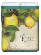 Lemon Tree - Limone Citrus Medica Duvet Cover