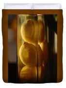 Lemon Vase Duvet Cover