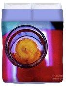 Lemonade In Red Duvet Cover