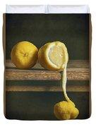 Lemons Duvet Cover