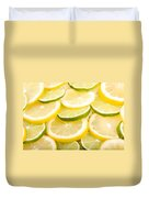 Lemons And Limes Duvet Cover