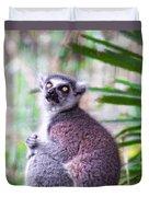 Lemur's Gaze Duvet Cover
