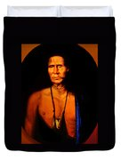 Lenape Chief Duvet Cover