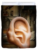 Lend Me An Ear Duvet Cover