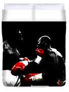 Lennox Lewis And Evander Holyfield  Duvet Cover