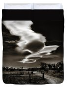 Lenticular Clouds Of Colorado Duvet Cover