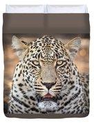 Leopard Close Up Duvet Cover