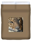 Leopard Face Duvet Cover