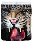 Leopard Face Duvet Cover
