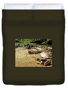Leopard Frog Landing Duvet Cover