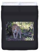 Leopard Front Duvet Cover