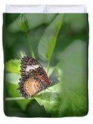Leopard Lacewing Duvet Cover