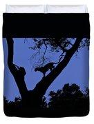 Leopard On The Prowl Duvet Cover