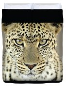 Leopard Panthera Pardus Female Duvet Cover