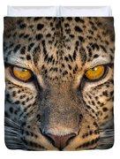 Leopard Panthera Pardus, Ndutu Duvet Cover