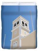 Lerapetra Church Steeple Duvet Cover