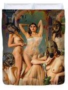Les Demoiselles 4 Duvet Cover