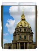 Les Invalides Duvet Cover